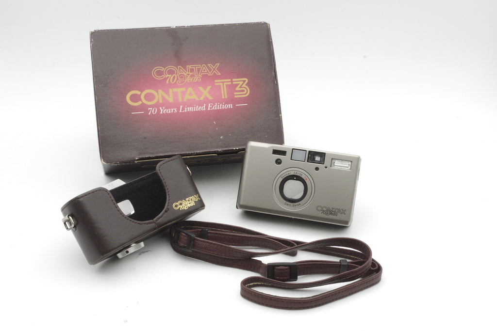 CONTAX T3 70 years Carl Zeiss Sonnar 35mm F2.8 T* 70 Years Model