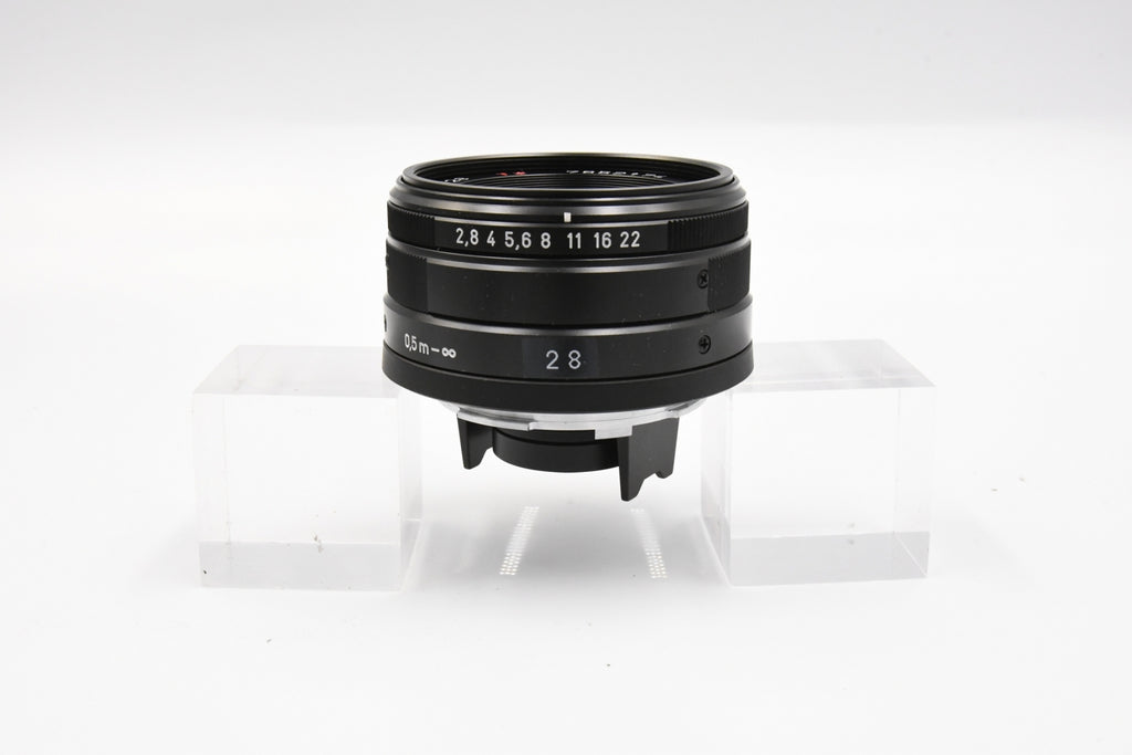 CONTAX Carl Zeiss Biogon 28mm F2.8 T* Black SN: 7852174