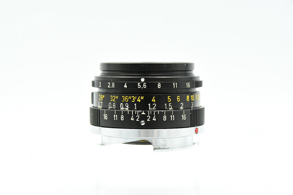 LEICA SUMMICRON 35mm F2 2nd CANADA SN: 2774701