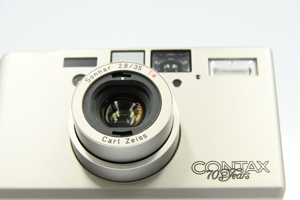 CONTAX T3 70th Anniversary SN: 035784