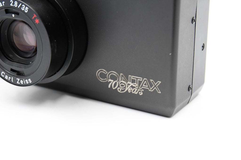 CONTAX T3 70th Anniversary Model SN: 036285