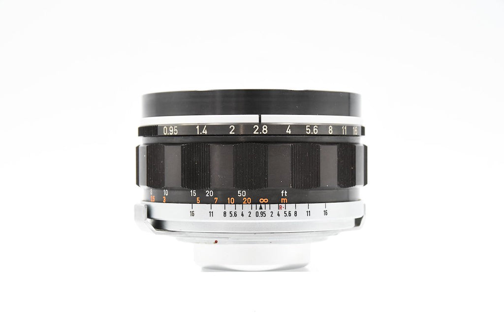 CANON LENS 50mm F0.95 SN: 11202