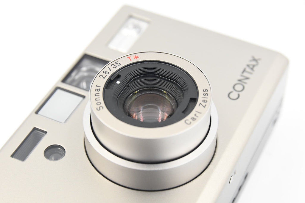 CONTAX T3D Carl Zeiss Sonnar 35mm F2.8 T* Single Tooth SN: 051886