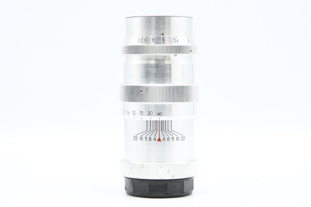 KOMZ JUPITER-11 135mm F4 L39 SN: 6506873