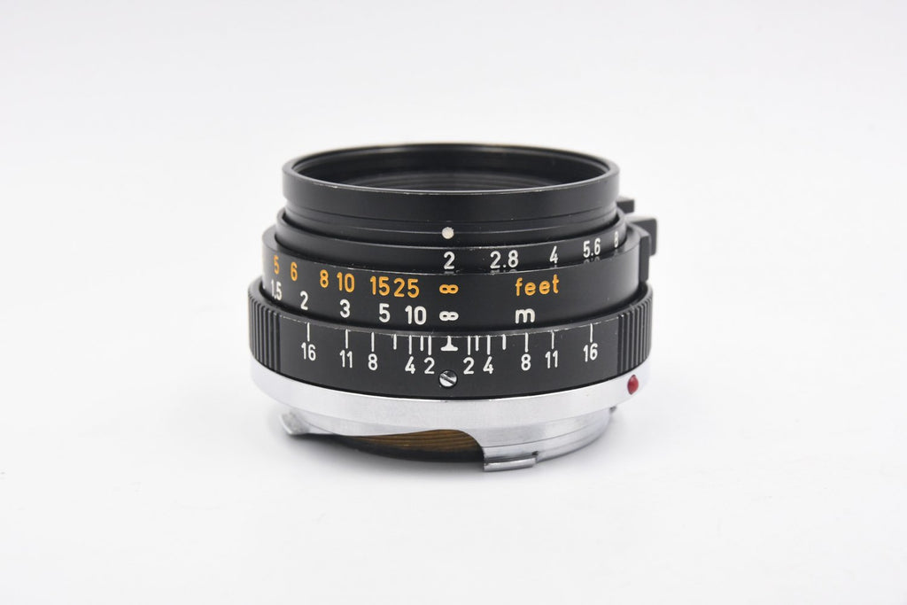 LEICA SUMMICRON 35mm F2 2nd GERMANY SN: 2328809