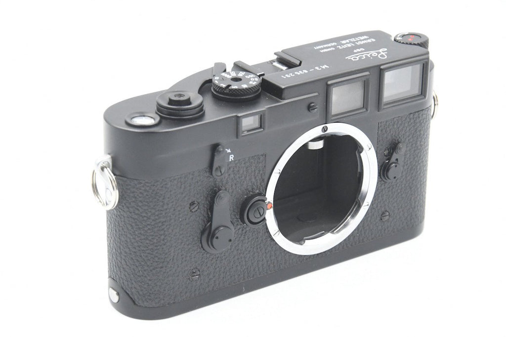 Leica M3 DS repaint Black Chrome SN: 835291