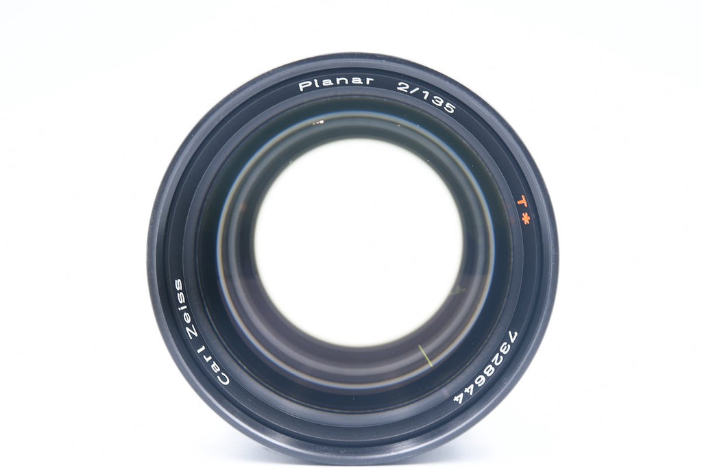 CONTAX Carl Zeiss Planar 135mm F2 T* MMG 60th Anniversary SN: 7328644