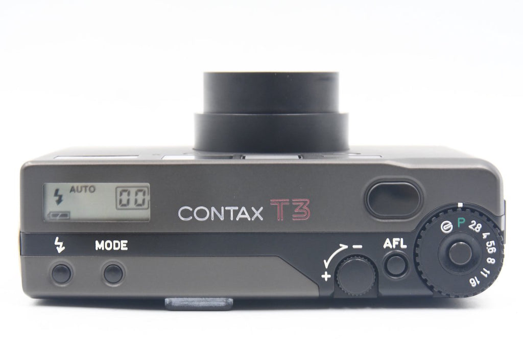 CONTAX T3 Black Early Model SN: 020425