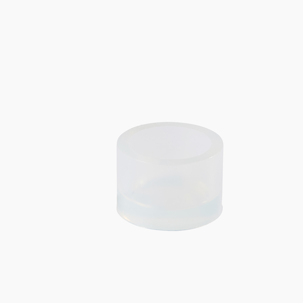 92002506 - Silicone mounting cup ∅38/H25mm with chamfer, each