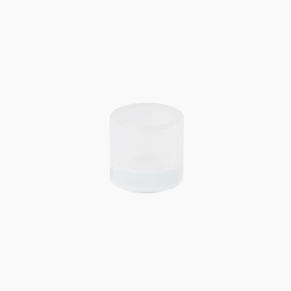 92002511 - Silicone mounting cup ∅25/H23mm with chamfer, each