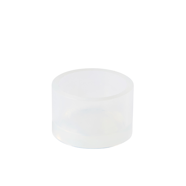 92005568 - Silicone mounting cup ∅50/H30mm with chamfer, each