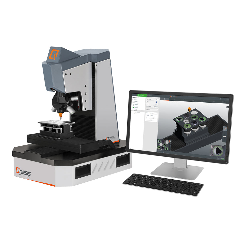 Q60 CHD Master Plus Automatic Micro Hardness Tester