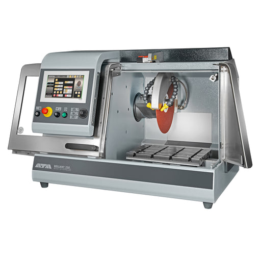 Brillant 250.3 Automatic Cut Off Saw - open cutting chamber