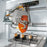 Brillant 285 Automatic Cut Off Saw - universal clamping solutions