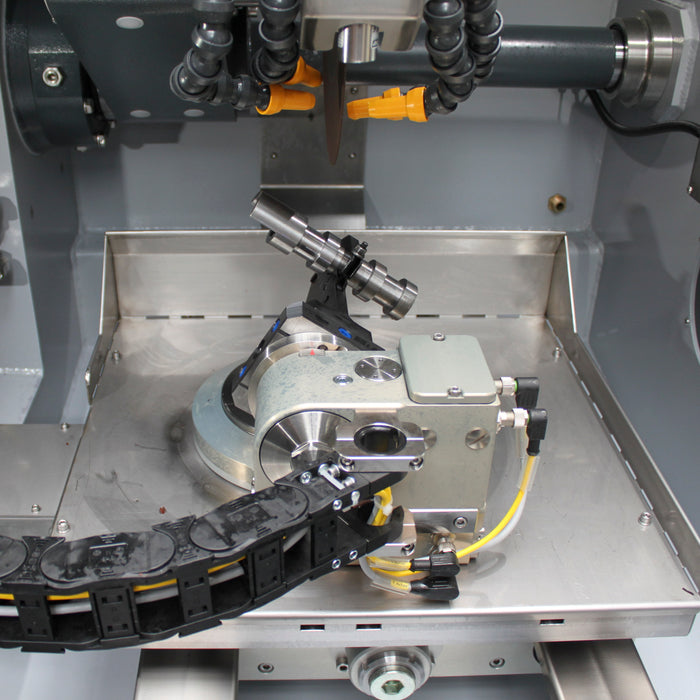 Brillant 3D Fully Automatic Cut Off Saw - Cutting Sample Position 3