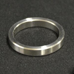 01820038SS - Brillant Stainless Steel Arbor Ring