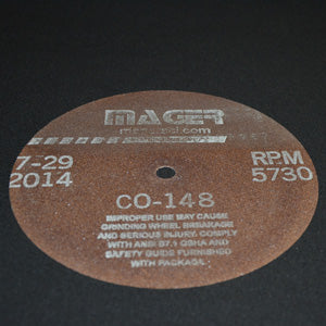 <html><html><html><html><html><html>CO-148 Cut-off wheel 200 x 1.1 x 12.7 mm Al<sub>2</sub>O<sub>3</sub> Resin 5/Box</html></html></html></html></html></html>