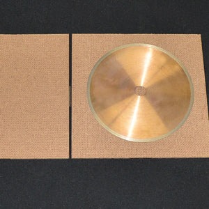 CO-154 Diamond wafering blade 5 x .015 x .5 in Grit 320 High Concentration Each