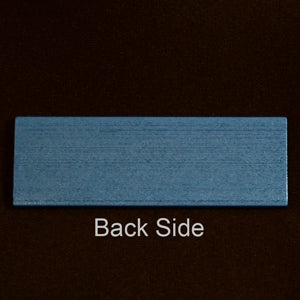 MS-SLIDE-B Metal Microscope Slide Blue Each