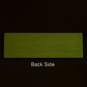 MS-SLIDE-G Metal Microscope Slide Green Each