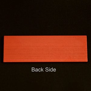 MS-SLIDE-R Metal Microscope Slide Red Each
