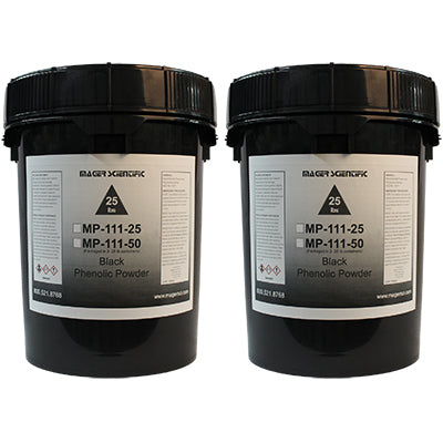 MP-111-50 - Phenolic Hot Mounting Powder, Black
