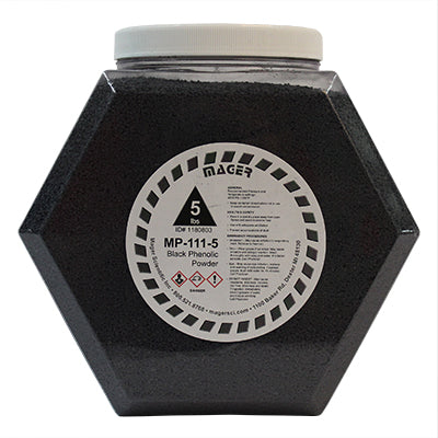 MP-111-5 - Phenolic Hot Mounting Powder, Black