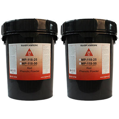 MP-118-50 - Phenolic Hot Mounting Powder, Red