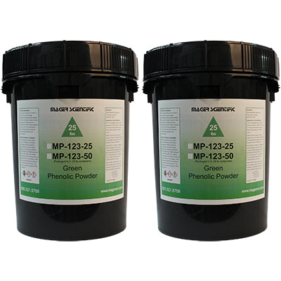MP-123-50 - Phenolic Hot Mounting Powder, Green