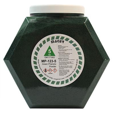 MP-123-5 - Phenolic Hot Mounting Powder, Green