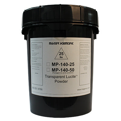 MP-140-25 - Lucite Hot Mounting Powder