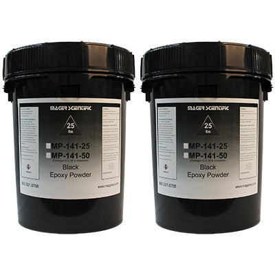 MP-141-50 - Black Epoxy Hot Mounting Powder, Glass Filled