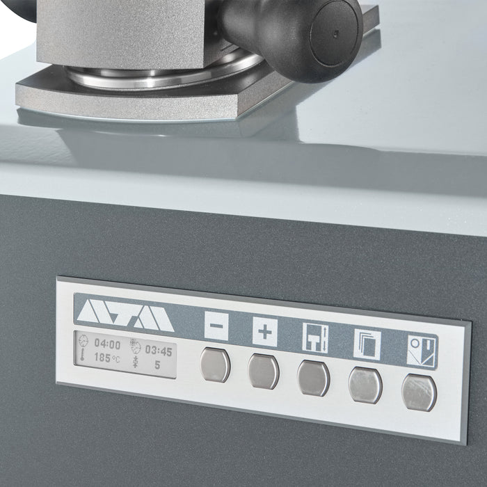 Opal 410 Mounting Press - control panel