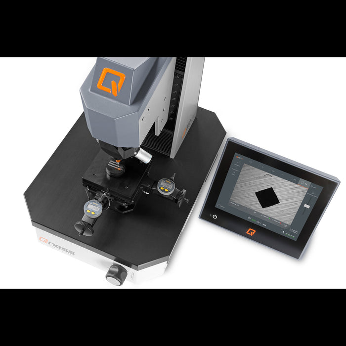 Q30 M Manual Micro Hardness Tester with digital stage micrometer
