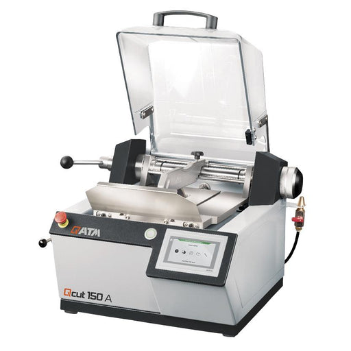 "Qcut 150 A Precision Cut Off Saw 8"" with open cutting chamber"