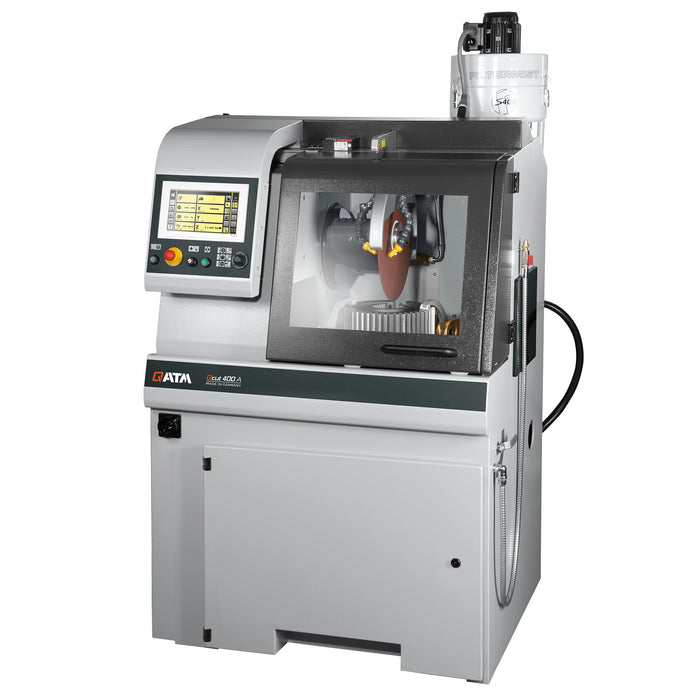 Qcut 400 A (Brillant 265) Automatic Cut Off Saw 14-16in with Optional Mist Extractor