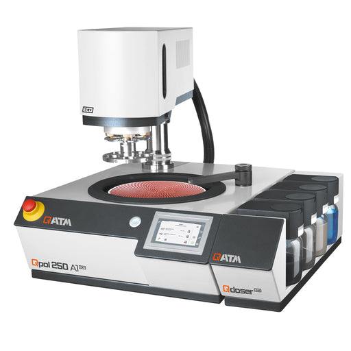 QATM Qpol 250 A1-ECO Automatic Grinder/Polisher with Qdoser dosing system