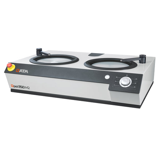 QATM Qpol 250 M2 Dual Wheel Grinder/Polisher