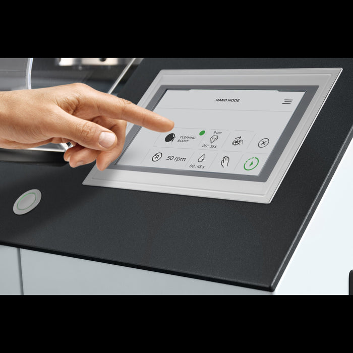Touch screen display for the Qpol XL Automatic Grinder / Polisher