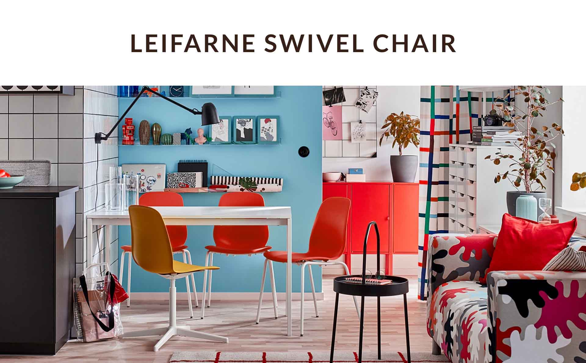 Leifarne Swivel chair | invisiblebed.com