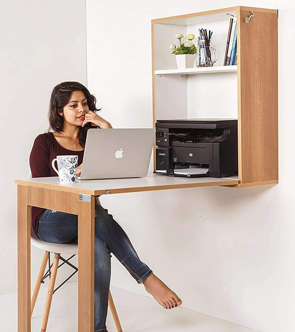 iTable Wall Mounted for Study, Office, Kitchen, Extendable table + Free Installation