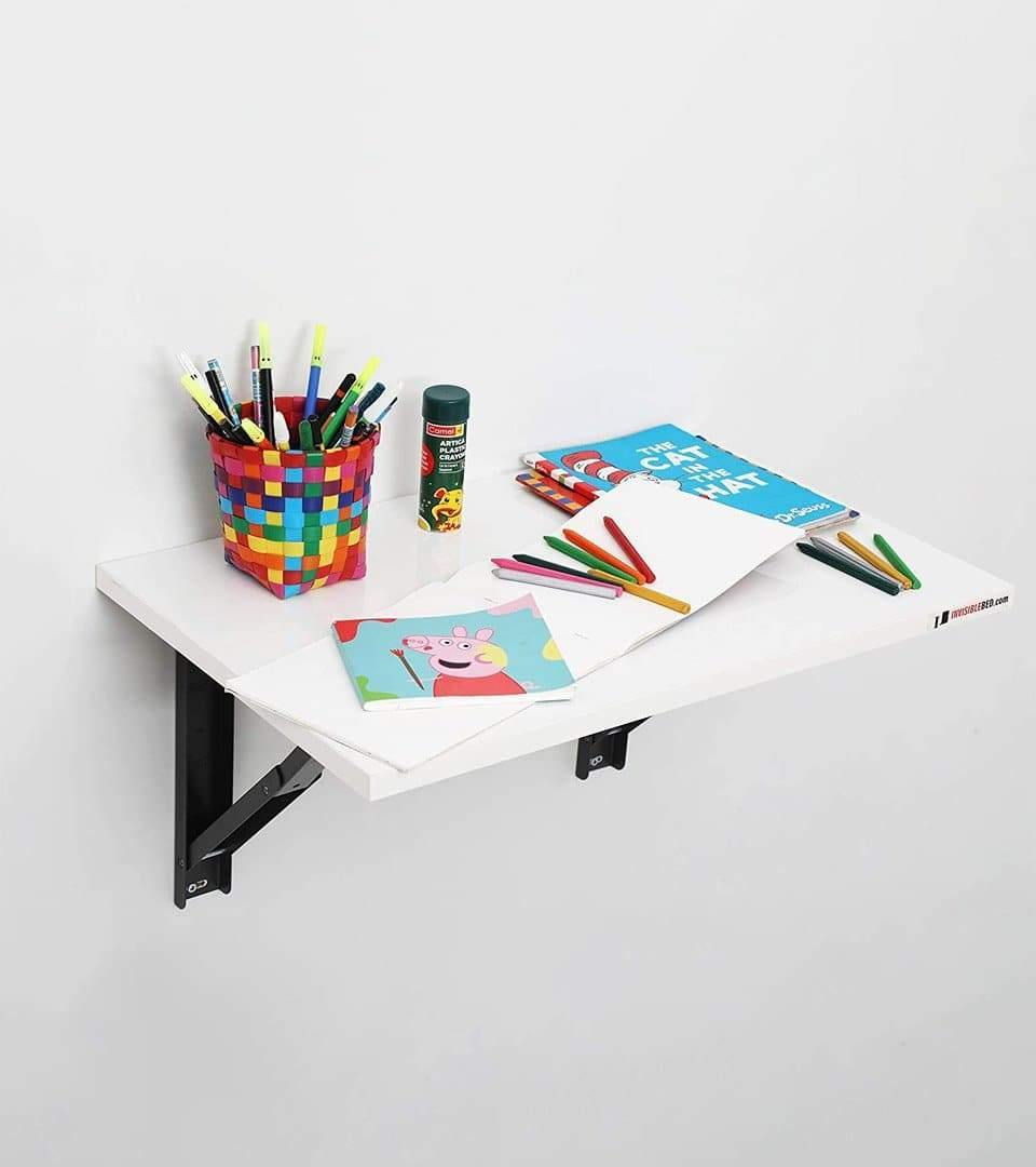 Foldable Mini Desk For Study, Office, Kitchen + Free Installation