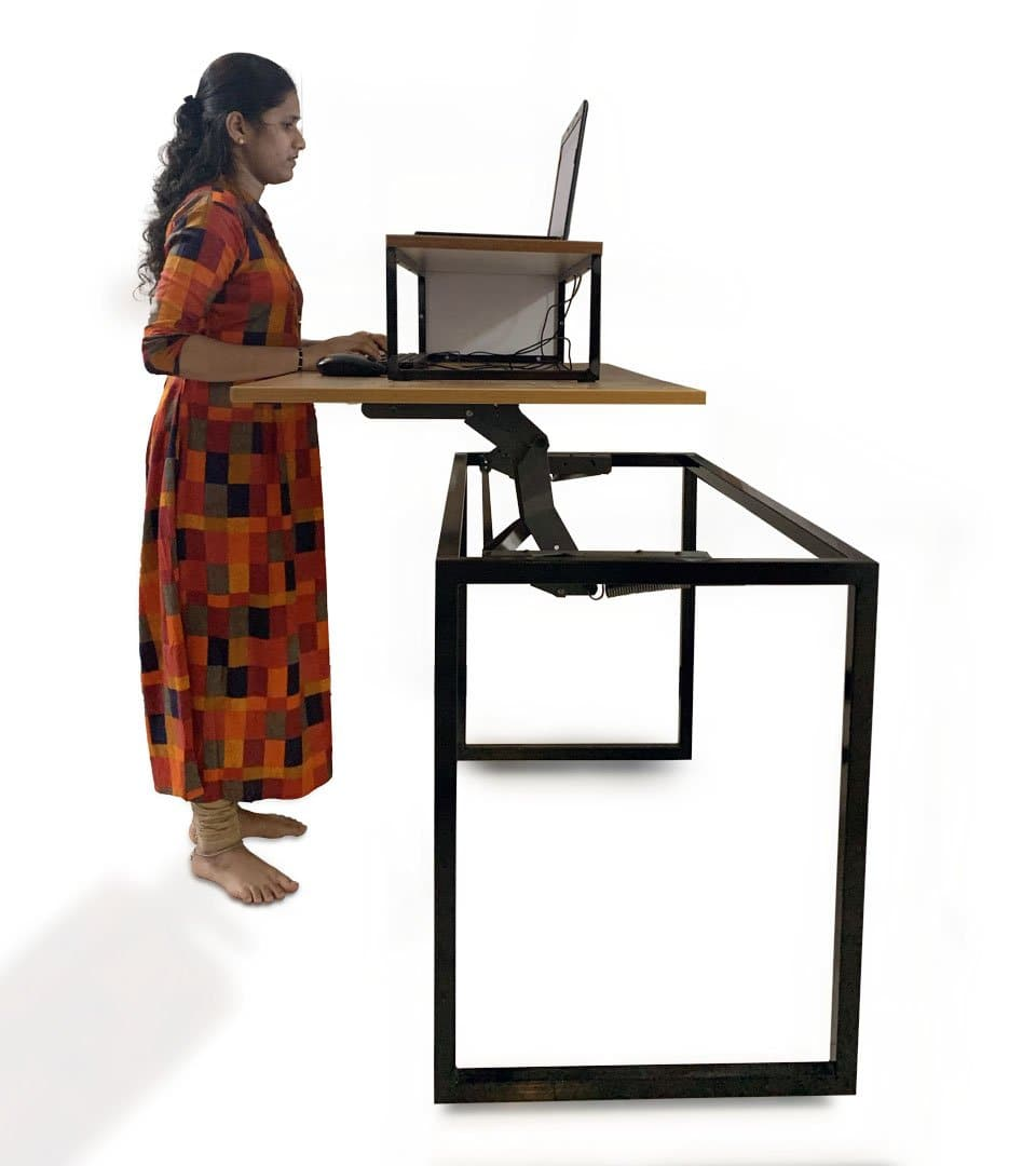 Combo of Standing Liftup Table  + Lapdesk/Monitor Stand