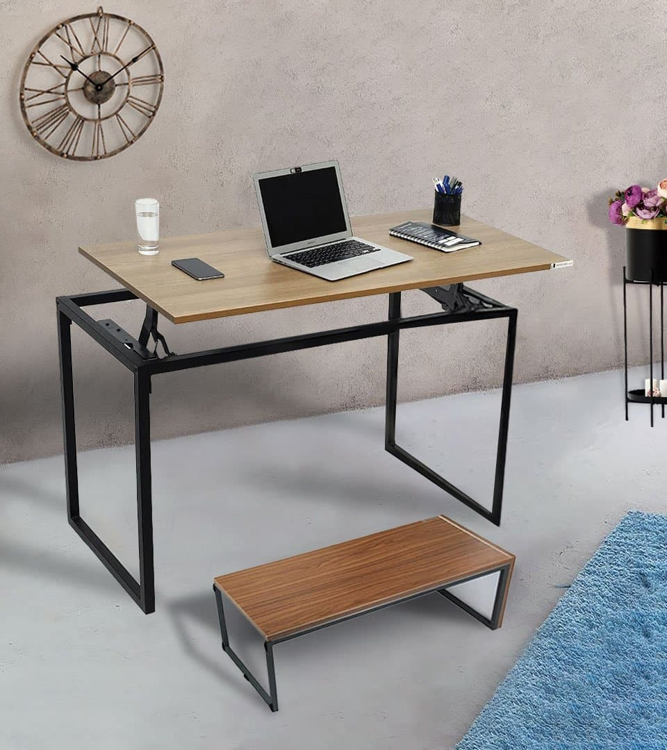 Combo of Standing Liftup Table  + Lapdesk /Monitor Stand