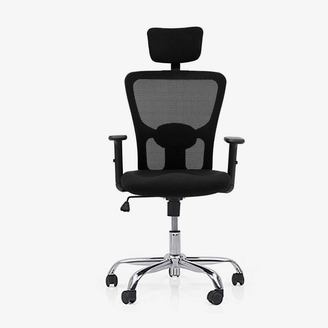 Ergonomic Office Chair With Lumbar Support and Headrest