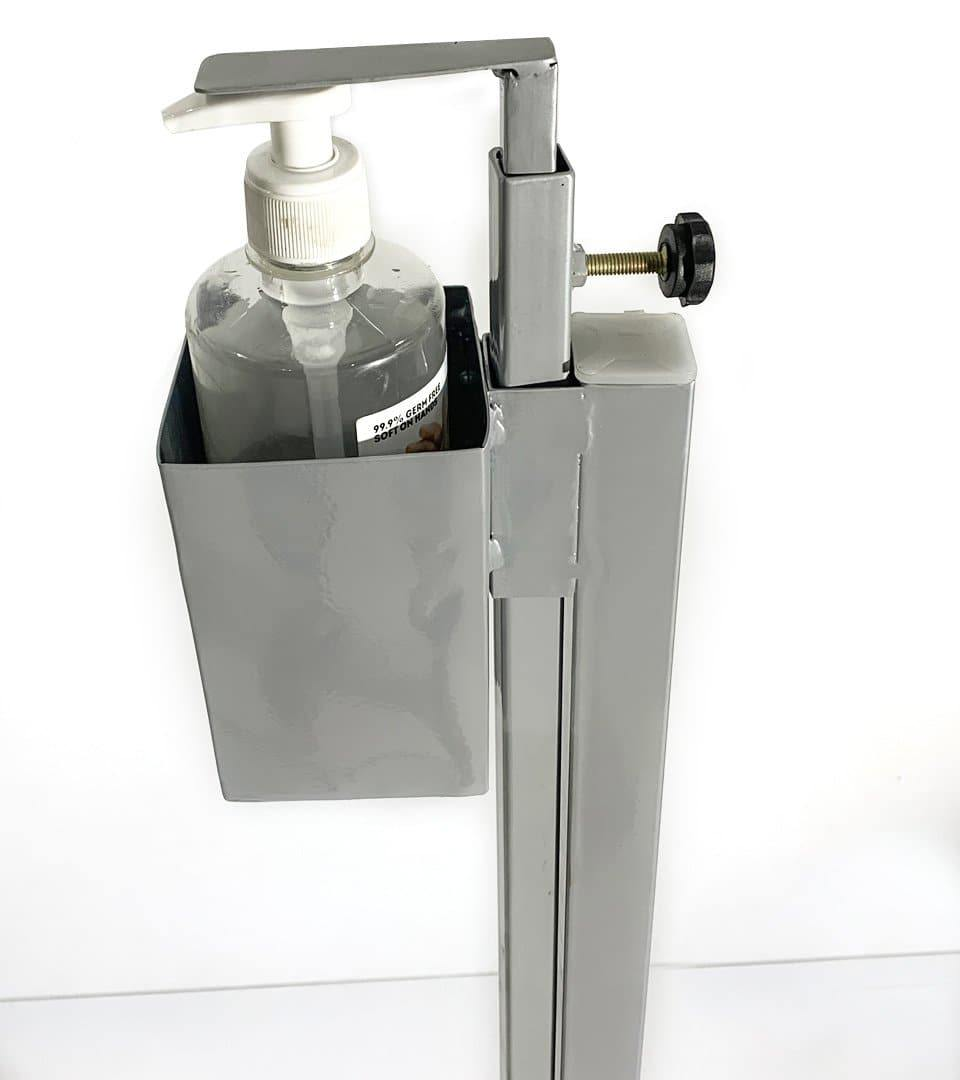 Hands Free Sanitizer Stand Dispenser Foot Operated