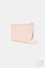 CLUTCH AVESTRUZ NUDE UPCYCLED