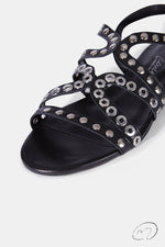 PUNKY SANDALS NEGRO