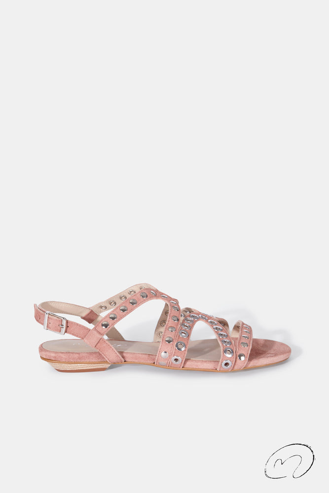 PUNKY SANDALS ROSA MAQUILLAJE