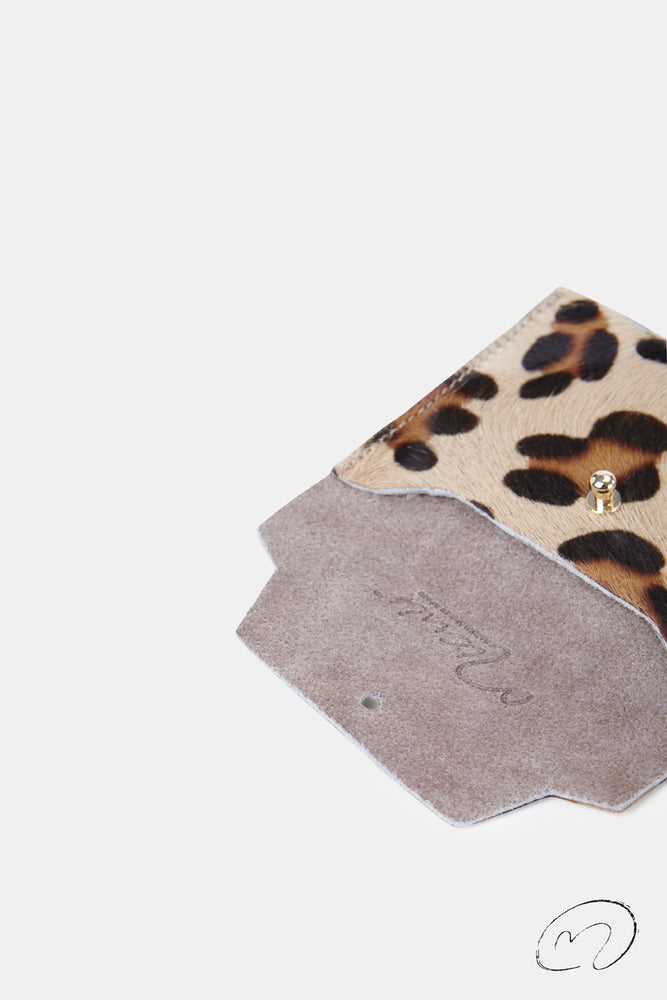 CARTERITA LEOPARDO UPCYCLED